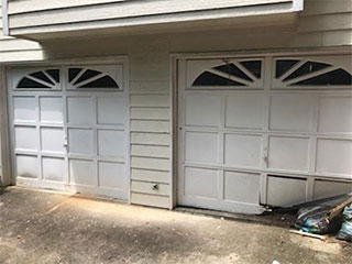 Dented Garage Door | Garage Door Repair Winter Garden, FL